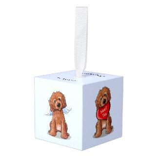 Hond van de Krabbel van DoodleMoji de RODE Decoratie 0