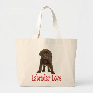Hond van het Puppy van de Labrador van de liefde Grote Draagtas