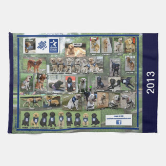 Honden van de Handdoek van de Keuken van WCC 2013