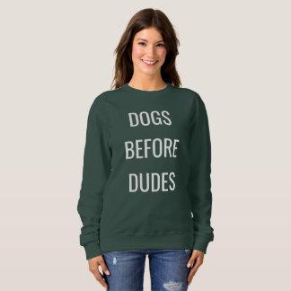 Honden vóór kerels, het sweatshirt van de