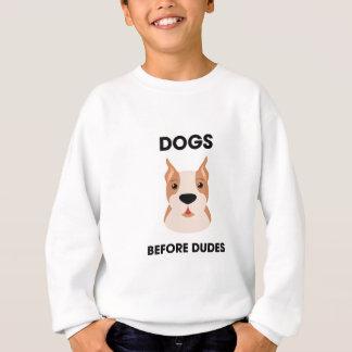 Honden vóór Kerels Trui