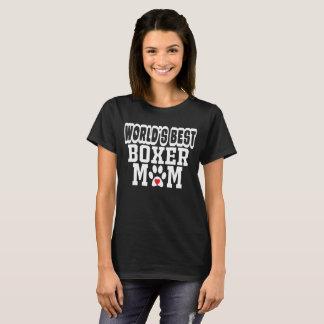 Hondenliefhebber van het Mamma van de Bokser van T Shirt