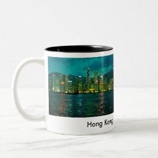 Hong Kong Tweekleurige Koffiemok
