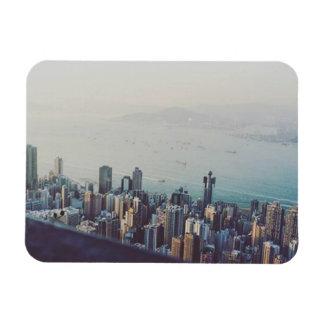 Hong Kong van hierboven Magneet