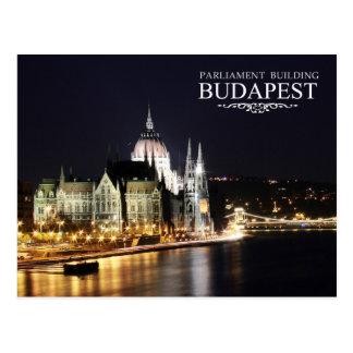 Hongaars Parlementsgebouw, Boedapest Briefkaart