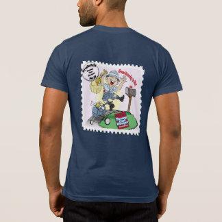 """Honger"""" Frederick, M.D. de """"van de zegel uit T Shirts"""