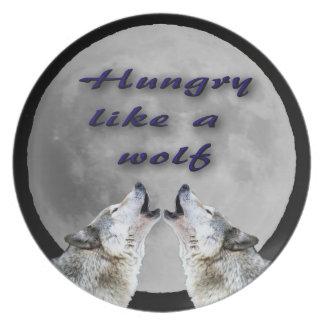 Hongerig als een Wolf Bord