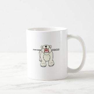 Hongerige Ijsbeer Koffiemok