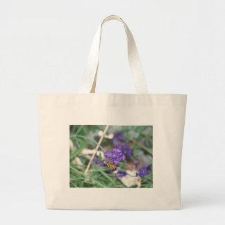 Honingbij op Lavendel Grote Draagtas