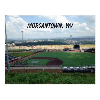 Honkbalveld dichtbij Morgantown, Briefkaarten WV