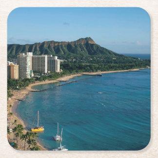 Honolulu Hawaï Vierkante Onderzetter