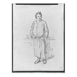 Honore DE Balzac Briefkaart