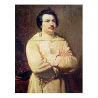 Honore DE Balzac in Gewoonte van zijn Monnik, 1829 Briefkaart
