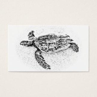 Honu - de Hawaiiaanse Schildpad van het Zee Visitekaartjes