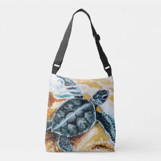 Honu Hatchling (de Groene Schildpad van het Zee) Crossbody Tas