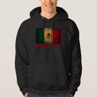Hoodie - de Engelse Mexico Vlag van Hecho