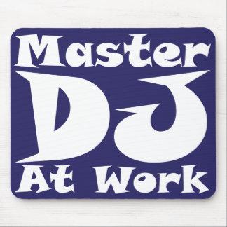 Hoofd DJ op het Werk Mousemat Muismat