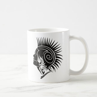 Hoofd met Mohawk Koffiemok
