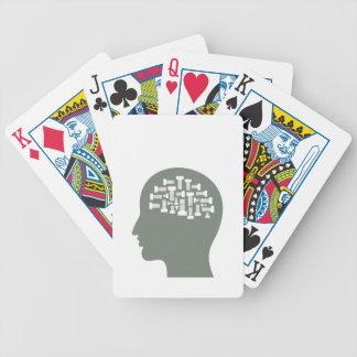 Hoofd Poker Kaarten