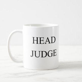 Hoofd rechter koffiemok
