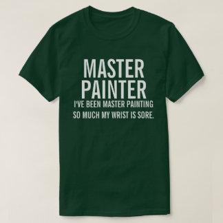 Hoofd Schilder T Shirt