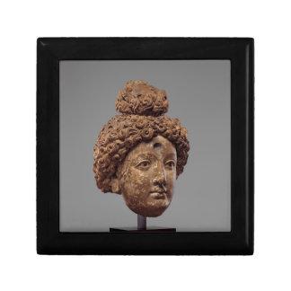 Hoofd van Boedha of een Bodhisattva Decoratiedoosje