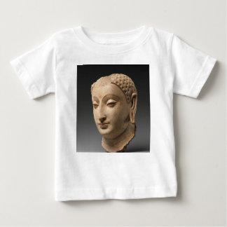 Hoofd van Boedha - vijfde-5th-6ste eeuw Baby T Shirts