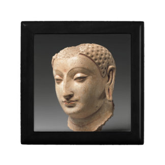 Hoofd van Boedha - vijfde-5th-6ste eeuw Decoratiedoosje