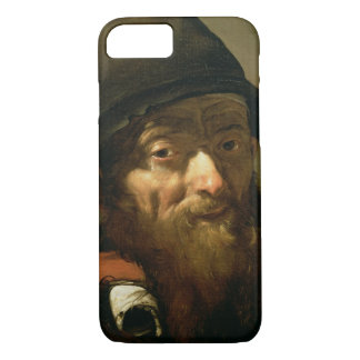 Hoofd van een Oud Man, detail van Portret van Oud iPhone 7 Hoesje