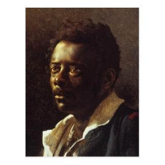Hoofd van een Zwarte door Theo Gericault Briefkaart