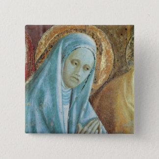 Hoofd van Heilige Anne van de Presentatie van Vierkante Button 5,1 Cm