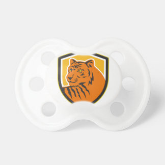 Hoofd Voor Retro CREST van de tijger Baby Speentje
