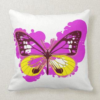 Hoofdkussen van de Vlinder van het pop-art het Kussen