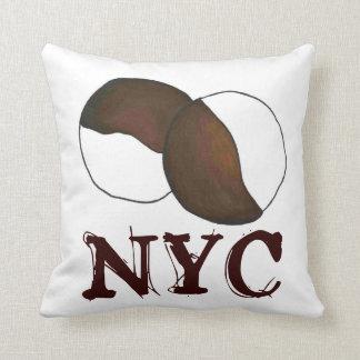 Hoofdkussen van het Koekje van de Stad van NYC New Sierkussen
