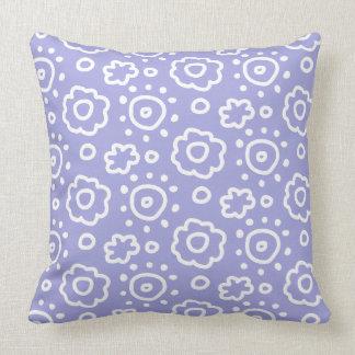 Hoofdkussen van het Patroon van de Lavendel van de Kussen