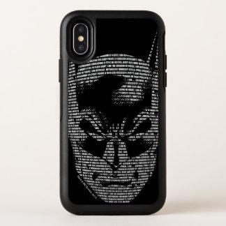 HoofdMantra van Batman OtterBox Symmetry iPhone X Hoesje