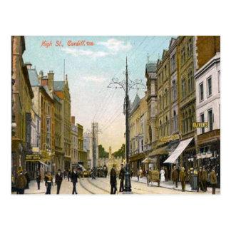 Hoofdstraat, Cardiff Briefkaart