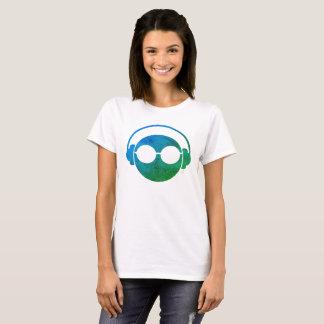 Hoofdtelefoon Emoji T Shirt
