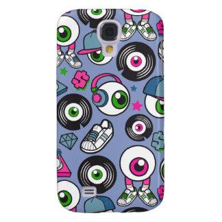 Hoofdtelefoons & de Schoppen van DJ van de Galaxy S4 Hoesje