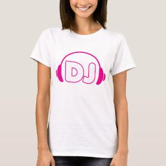 Hoofdtelefoons DJ T Shirt