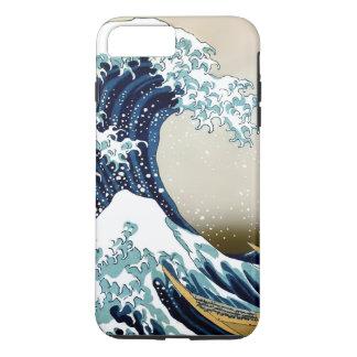 Hoog - kwaliteits Grote Golf van Kanagawa door iPhone 8/7 Plus Hoesje