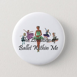 HOOGSTE Ballet binnen me Ronde Button 5,7 Cm