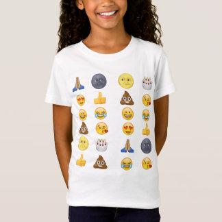 Hoogste emojicollectie t shirt