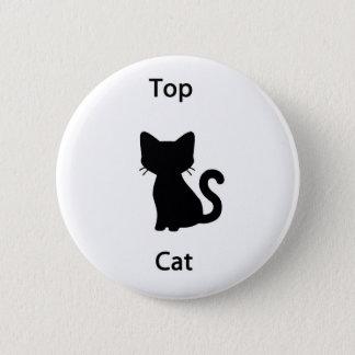 Hoogste kat ronde button 5,7 cm