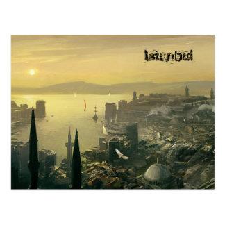 Hoogste ontwerp Istanboel door SLW Briefkaart