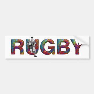 HOOGSTE Rugby Bumpersticker