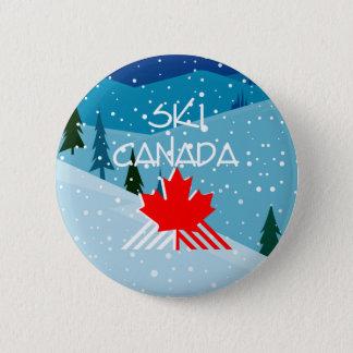 HOOGSTE Ski Canada Ronde Button 5,7 Cm