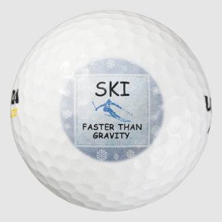 HOOGSTE Ski sneller dan Ernst Golfballen