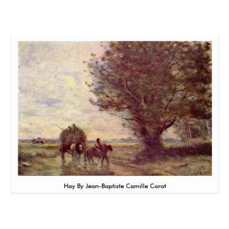 Hooi door Jean-Baptiste Camille Corot Briefkaart