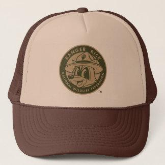 Hooimijt | van de boswachter het Kaki Logo van de Trucker Pet